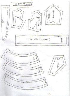 uniform and socks pattern