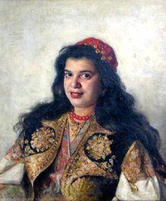 МАКОВСКИЙ ВЛАДИМИР ЕГОРОВИЧ (1846-1920).Цыганка.