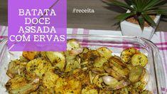 BATATA-DOCE ASSADA: Você precisa de um acompanhamento rápido e gostoso para as suas refeições? No vídeo de hoje, eu compartilho uma das minhas receitas favoritas de batata-doce assada com alho, cebola, ervas e azeite - o acompanhamento perfeito.