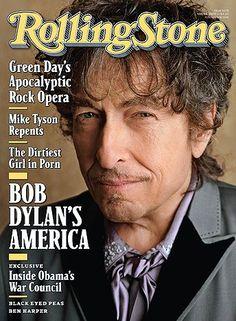 Bob Dylan, Sam Jones, Rolling Stone Magazine 14 May 2009 Cover ...