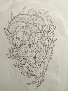 Faun illustration by TheDrownTown