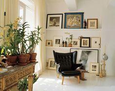 Interior decorating with plants