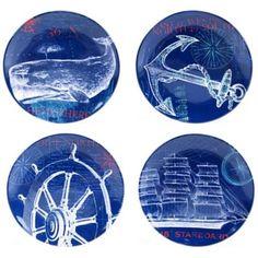 Buy Certified International Pier 45 Dinner Plate Set (Set of 4) from Bed Bath & Beyond
