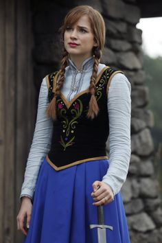 Once Upon a Time Anna Frozen costume