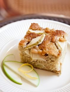 Tuscan Apple Cake. Someone please make this, brew a pot of coffee, and CALL ME!