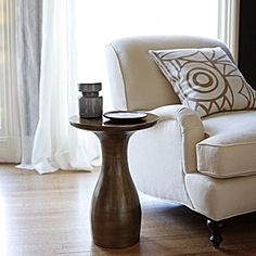 Foundry Side Table | Serena & Lily 14.75 diameter,  20.5 high $250