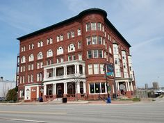 1026 Military St Harrington Hotel Originally Port Huron Michigan Built 1896 Historic