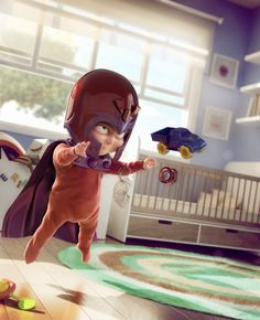 I would be so down for a Pixar take on X-Men Babies!