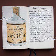From sketchbook of Petri Fills #sketchbook #drawing #historia