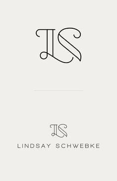 LS - Web Design by Ayse Nur Ataysoy, via Behance Wedding Logo Design, Wedding Logos, Brand Identity Design, Branding Design, Design Logos, Initials Logo, Typography Logo, Letter Logo, Lettering Design