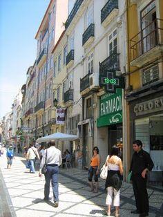 Coimbra - Rua Ferreira Borges