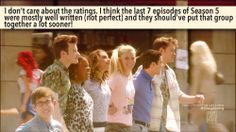 Reblogging confessions that I agree with   #Glee