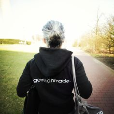 #germanmade is walking with u.