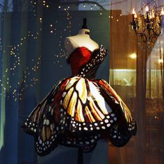 I've wanted a butterfly dress ever since I saw Thumbelina as a kid!