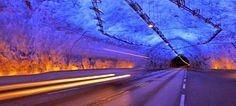 Η.W.N.: Δέος: Μέσα στο μακρύτερο τούνελ του κόσμου που έχε... Country Roads