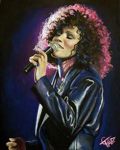 Whitney Houston by Tom Carlton [©2012]