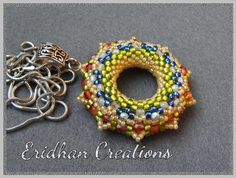 Set of beaded donuts  tutorials by InMemoryOfEridhan on Etsy