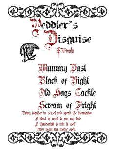 spell book 2 by disneyfreak19deviantartcom on deviantart - Halloween Printable Book 2