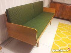 Mała 187 rozkładana sofa retro vintage kanapa
