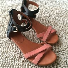 Rebecca Minkoff sandals Petty sandals in good condition. Worn just a handful of times. Rebecca Minkoff Shoes Sandals