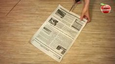 How to Make a Basket from Recycled Newspaper.