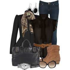 """what I wore"" by mayakhan007 on Polyvore"