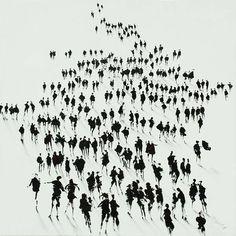 Limited Edition Art Print of crowd of people by British artist McBride – Neil McBride Art Wedding Body, Protest Art, Instagram Background, Close Encounters, People Illustration, Gcse Art, Art Themes, People Art, Pretty Art