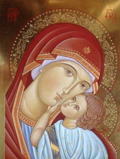 Religious Images, Religious Icons, Religious Art, Jesus And Mary Pictures, Famous Saints, Horse Skull, Greek Icons, Mama Mary, Jesus Christus