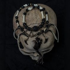 Image of Crows Pact Bone Necklace