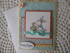 Handmade Greeting Card: Happy Easter Everybunny
