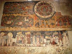 SVETITSKHOVELI CATHEDRAL, MTSKHETA fresco.  XI century