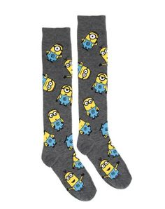 Despicable Me All Over Minion Socks