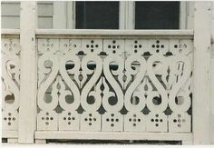 House Exterior, Porch Balusters, Porch And Balcony, Porch Railing, Wood Balusters, Victorian Porch, Little Houses, Deck Building Designs, Victorian Homes