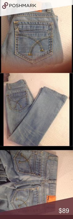 AUTHENTIC DESIGNER RARE TAG JEANS This is a pair of authentic where designer jeans by TAG EXCELLENT DENIM WITH GORGEOUS GORGEOUS FIT the large back pockets and cut and style of the jeans are super flattering may have a slight flair at the bottom you will truly fall in love with this pair of jeans they have never been worn and they still have the tag holder but not the retail tags attached you will also love the stitching and the color is PERFECT DENIM BLUE 😍😘. PRICE IS FIRM ON THIS PAIR…