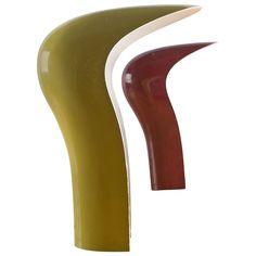 "Compasso / Set of Two ""Pelota"" Table Lamps by Studio DA for Lamperti"