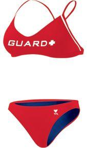 TYR Lifeguard Swimsuits Female Microback Workout Bikini - Metro Swim Shop