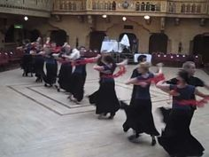 BYU Ballroom Dancers practicing at Blackpool, England