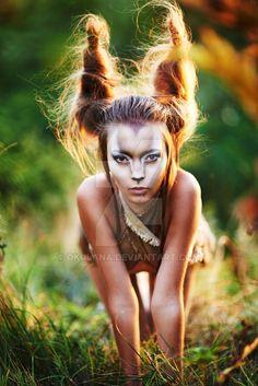 Bodyart- me, photographer- Alex Pedan, model- Anastasia