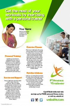 fitness flyers a pinterest collection by postermywall fitness