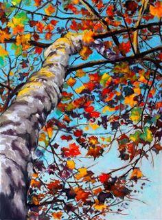 """Tree Music"" - Original Fine Art for Sale - © Jill Bates"