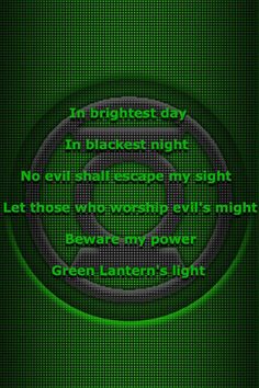 Green Lantern Oath: In brightest day, in blackest night, no evil shall escape my sight. Let those who worship evil's might beware my power green lantern light Comic Book Characters, Comic Character, Comic Books, Lantern Corps Oaths, Green Lantern Corps, Green Lanterns, Dc Comics Art, Dc Heroes, Dark Horse