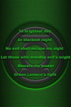 Green Lantern corps oath