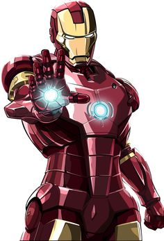 Iron man Comic drawings | iron man vector by savagefreakk