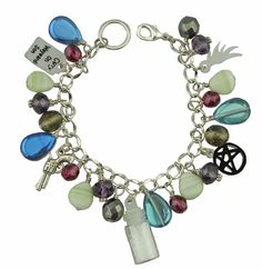Unique Creations — Supernatural Inspired Funky Bracelet >>I like the purple one better