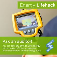 Professional energy assessments generally go into great detail to assess your home's energy use. The energy auditor (such as DuctTesters) will do a room-by-room examination of the residence, as well as a thorough examination of past utility bills. Many professional energy assessments will include a blower door test. Most will also include a thermographic scan.  Call us and we can help you.  #energyefficient #homeenergyaudit #homeenergy #energyconsultant