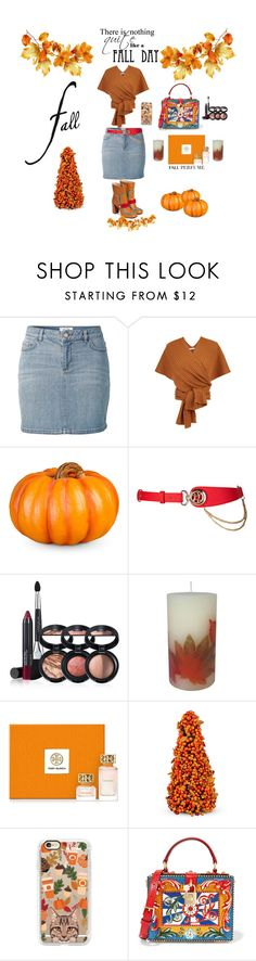 """""""fall day"""" by toddie2145 ❤ liked on Polyvore featuring Fat Face, TIBI, Improvements, Laura Geller, Tory Burch, Casetify and Dolce&Gabbana"""