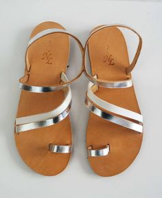 Sandals Leather handmade,fashion,made in Greece,gladiator sandals