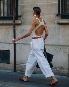 "fashiion-gone-rouge: ""Julie Peilipas via StyleDuMonde """