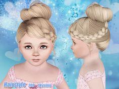 Skysims Hair Toddler 209-I