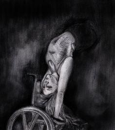 JENNIFER BRICKER Ilustración de Virginia Fernández. Realizada a lápiz, grafito y carboncillo, y posteriormente tratada con programas de retoque fotográfico y tableta digital.